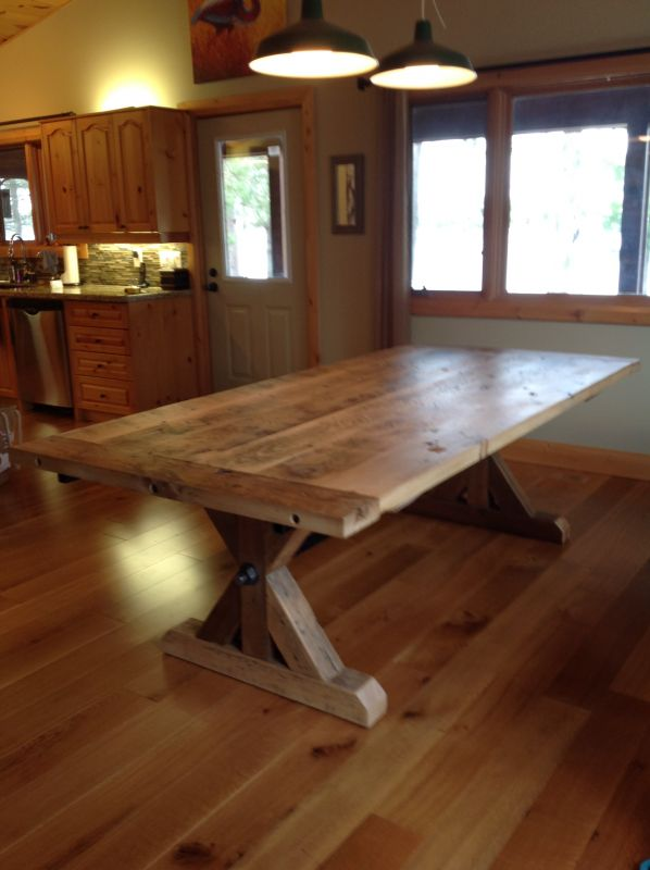 Provenance Harvest Tables   Custom Made Reclaimed Furniture   Sutton,  Ontario