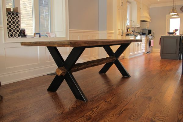 Provenance Harvest Tables Custom Made Reclaimed